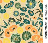 seamless pattern. colorful... | Shutterstock .eps vector #314061356