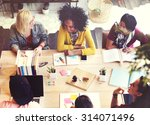 diverse architect people group... | Shutterstock . vector #314071496