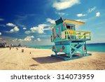 South Beach In Miami  Florida
