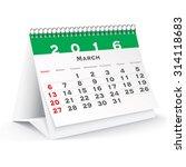 March 2016 Desk Calendar  ...