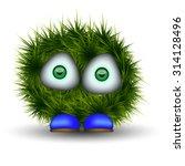 Sad Shaggy Green Creature