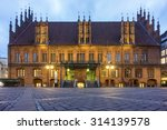 Stock photo hannover germany january old town hall hannover a historical building dating back to 314139578