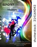 sport vector illustration | Shutterstock .eps vector #314164043