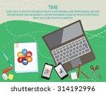 flat vector design concept... | Shutterstock .eps vector #314192996