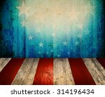 usa style background   empty... | Shutterstock . vector #314196434