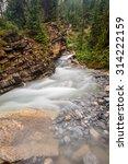 the toboggan river careens past ... | Shutterstock . vector #314222159