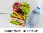 Lunchbox With Sandwich ...