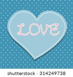 heart from paper valentines day ...   Shutterstock .eps vector #314249738