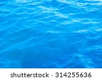 Waving Water Surface Of The...