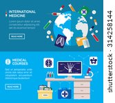 international medicine and... | Shutterstock .eps vector #314258144