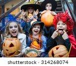 Children In Halloween Costumes...