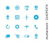 technology icons universal set... | Shutterstock .eps vector #314295374