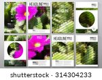 business templates for brochure ... | Shutterstock .eps vector #314304233