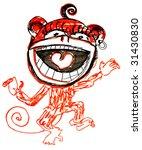 sketch of monkey 2 | Shutterstock . vector #31430830