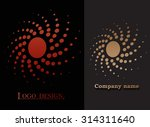 abstract logo design.logotype...   Shutterstock .eps vector #314311640