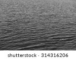 Black And White  Water Seascap...