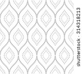 pattern with seamless  ornament.... | Shutterstock . vector #314318213