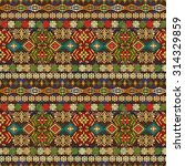 ethnic seamless pattern. ethno...   Shutterstock .eps vector #314329859