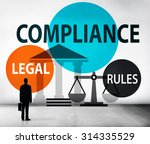 Small photo of Compliance Legal Rule Compliance Conformity Concept