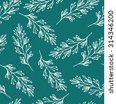 nature seamless pattern | Shutterstock . vector #314346200
