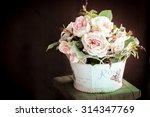 colorful decoration artificial... | Shutterstock . vector #314347769