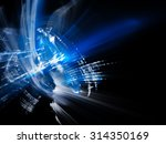 abstract blue background.... | Shutterstock . vector #314350169