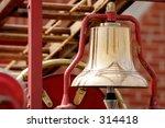 alarm bell on vintage fire truck | Shutterstock . vector #314418
