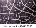 cracked safety glass ... | Shutterstock . vector #314423333