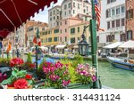 grand canal of venice  italy  | Shutterstock . vector #314431124