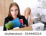 Boss Dismissing An Employee....