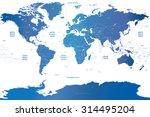 vector soft blue gradient... | Shutterstock .eps vector #314495204