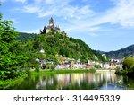 Castle Reichsburg Sits Above...