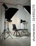 photo studio with modern... | Shutterstock . vector #314501270