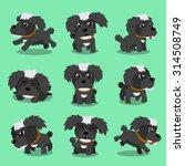 Cartoon Character Black Maltes...