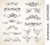 vector illustration of... | Shutterstock .eps vector #314510000