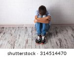 sad teenager. problems at... | Shutterstock . vector #314514470