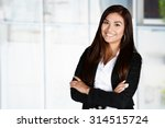 business woman at the office... | Shutterstock . vector #314515724
