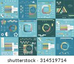 big set templates and...   Shutterstock .eps vector #314519714