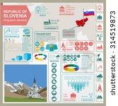 slovenia infographics ... | Shutterstock .eps vector #314519873