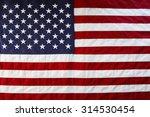 closeup of american flag stars... | Shutterstock . vector #314530454