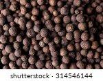 allspice english pepper berries ... | Shutterstock . vector #314546144
