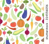 vector seamless pattern with... | Shutterstock .eps vector #314556056