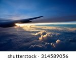 fly from singapore to houston... | Shutterstock . vector #314589056