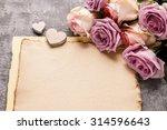 Romantic Letter Background ...