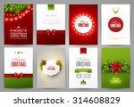 set of christmas brochures...