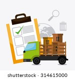 delivery  transport and...   Shutterstock .eps vector #314615000