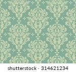 seamless floral pattern with... | Shutterstock .eps vector #314621234