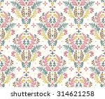 seamless floral pattern with... | Shutterstock .eps vector #314621258