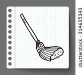 mop doodle | Shutterstock .eps vector #314635343
