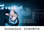 close up of businessman... | Shutterstock . vector #314648918